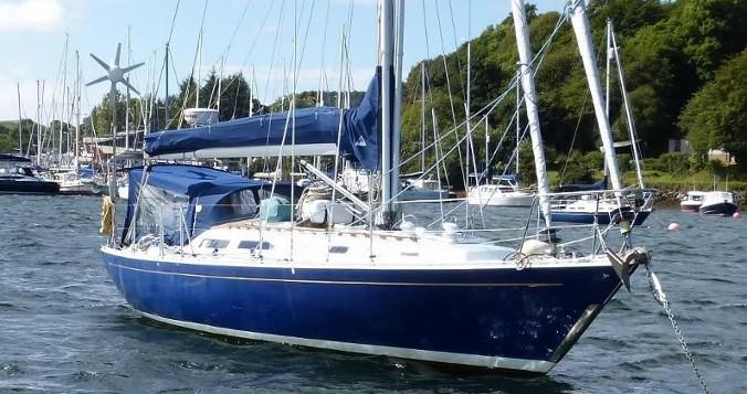 Artemis of Lleyn (renamed Penny Blue) at Ardfern in 2016 (Ardfern Yacht Center)