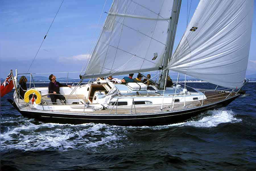 Artemis in 1993 being sailed by Mr John Hodges (photo: Martin Turtle)