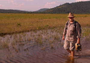 wading in the rupununi