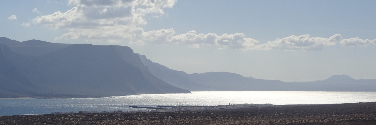 Lanzarote from La Graciosa