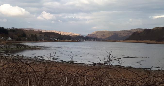 Ardfern in Schottland