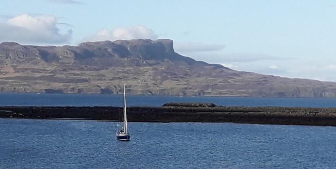 Insel Eigg von Insel Muck