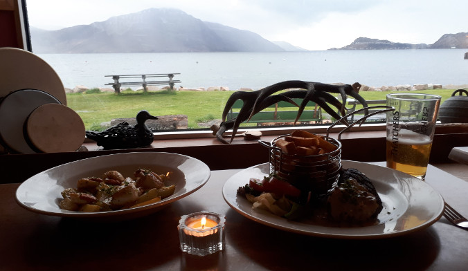 Dinner at the Old Forge on Knoydart