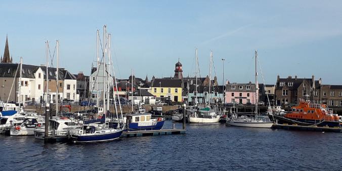 Stornoway Hafen