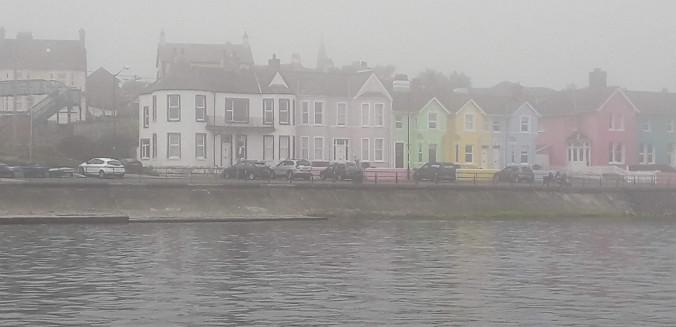 Whitehead im Nebel
