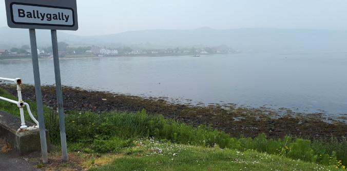 The mist in Ballygally
