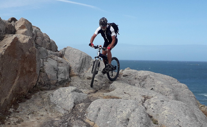 Cycling on Guernsey