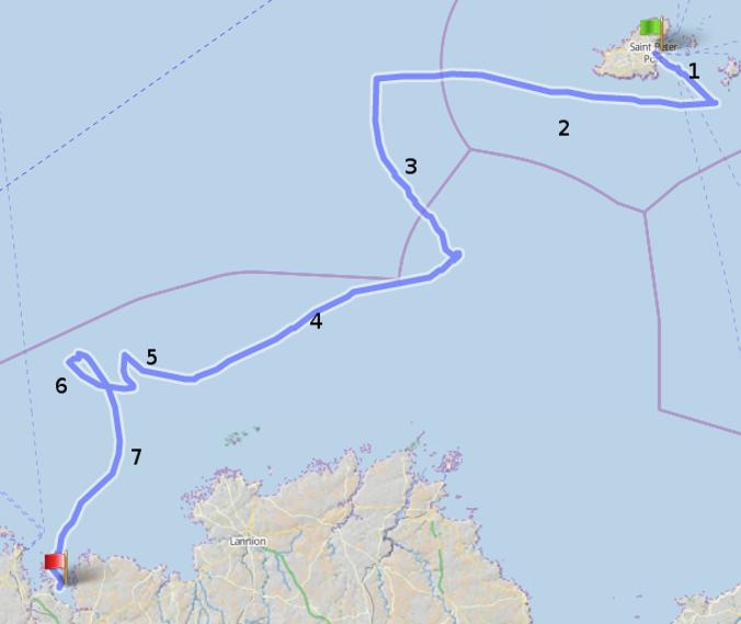 Guernsey to Morlaix