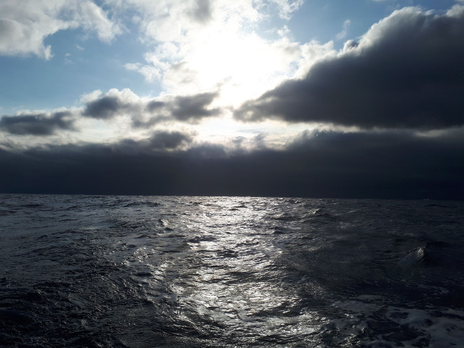 Dawn in the Bay of Biscay